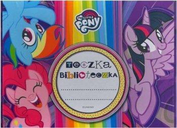 My Little Pony. Fioletowa. Teczka biblioteczka