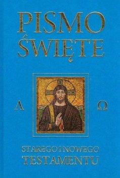 Pismo Święte Starego i Nowego Testamentu. Niebieskie