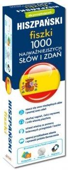 HISZPAŃSKI fiszki 1000 najważniejszych słów i zdań + CD (1000 fiszek + CD-ROM z programem i nagraniami)