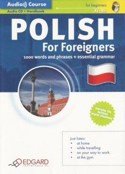 Polski dla cudzoziemców Polish For Foreigners (Podręcznik + CD Audio)