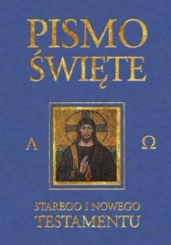 Pismo Święte Starego i Nowego Testamentu. Granatowe