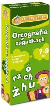 Kapitan Nauka Karty obrazkowe Ortografia w zagadkach (od 7 lat) (Książeczka z kartami obrazkowymi)