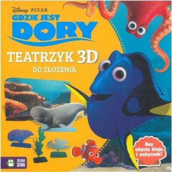 Gdzie jest Dory. Teatrzyk 3D. Wypychanki