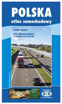 Atlas samochodowy Polski 1:600 000
