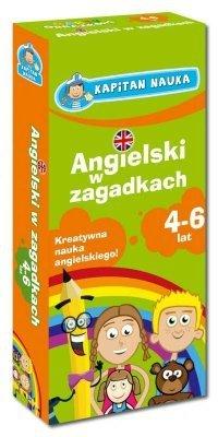Angielski w zagadkach 4-6 lat