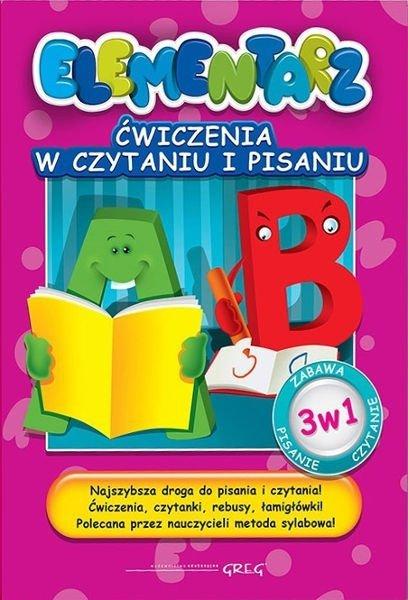 Elementarz - ćwiczenia w czytaniu i pisaniu