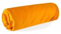 Prześcieradło NOVA z makosatyny 160X200 z gumką Pomarańczowe Eurofirany