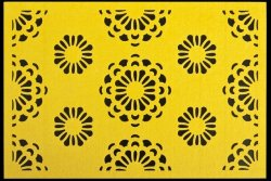 Podkładka FIORI Żółta 30X120