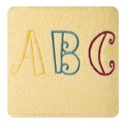 Ręcznik dziecięcy BABY22 70X140 Żółty 450gsm