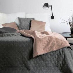 Narzuta VIKI Design 91 220X240 Stal/Róż