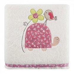 Ręcznik dziecięcy BABY6 Krem Róż 50X90 450gsm