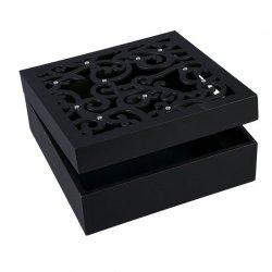 Pudełko AGA 02 Czarne 20X20X8