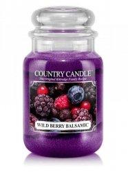 Country Candle - Wild Berry Balsamic - Duży słoik (652g) 2 knoty