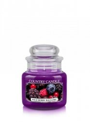 Country Candle - Wild Berry Balsamic -  Mały słoik (104g)