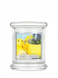Kringle Candle - Lemon Lavender - mini, klasyczny słoik (128g)