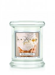Kringle Candle - Vanilla Cone - mini, klasyczny słoik (128g)