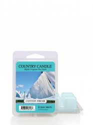 Country Candle - Cotton Fresh - Wosk zapachowy potpourri (64g)