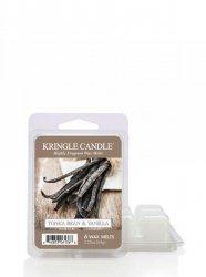 Kringle Candle - Tonka Bean & Vanilla - Wosk zapachowy potpourri (64g)