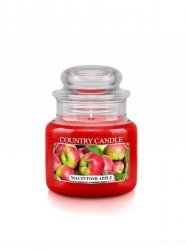 Country Candle - Macintosh Apple -  Mały słoik (104g)