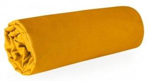 Prześcieradło NOVA z makosatyny 160X210 Pomarańczowe Eurofirany