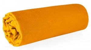 Prześcieradło NOVA z makosatyny 220X210 Pomarańczowe Eurofirany