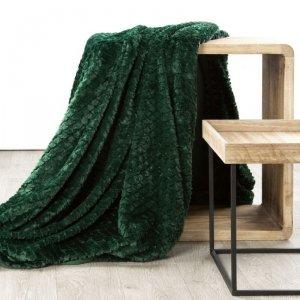 Narzuta AMBER 70X160 Ciemny Zielony Design 91