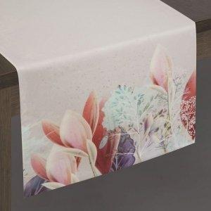 Bieżnik ASTRI 35X140 Srebrny+Róż