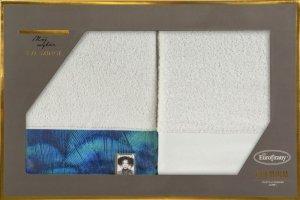 Eva Minge Komplet Ręczników CAMILA 70x140 Kremowy Eurofirany