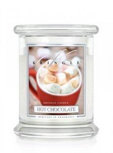 Kringle Candle - Hot Chocolate - średni, klasyczny słoik (411g) z 2 knotami