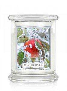 Kringle Candle - Winter Apple - średni, klasyczny słoik (411g) z 2 knotami