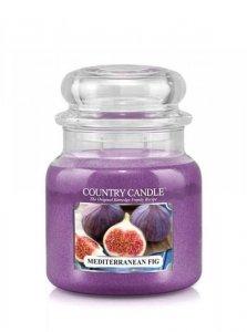 Country Candle - Mediterranean Fig - Średni słoik (453g) 2 knoty