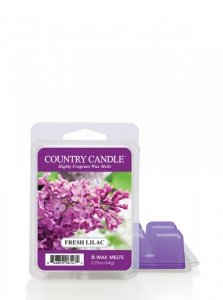 Country Candle - Fresh Lilac - Wosk zapachowy potpourri (64g)