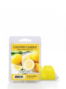 Country Candle - Lemon Rind - Wosk zapachowy potpourri (64g)