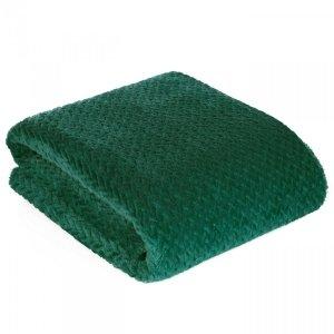 Koc CINDY3 70X160 Ciemny Zielony Design 91
