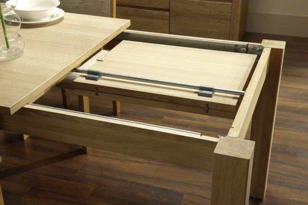 Stół dębowy rozkładany 160x90 typ 41 - Dekort