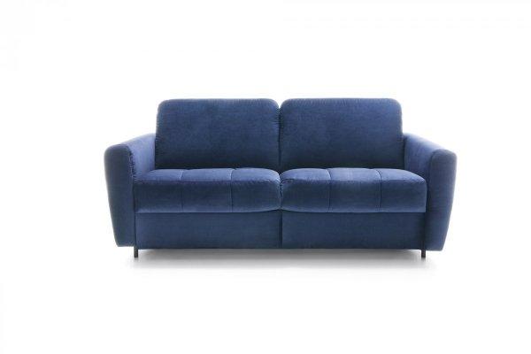Sofa z funkcją spania typu stelaż włoski - OLBIA - Gala Collezione - Granat