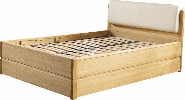 Łóżko dębowe z pojemnikiem typ 16 Atlanta - Dekort 160x200
