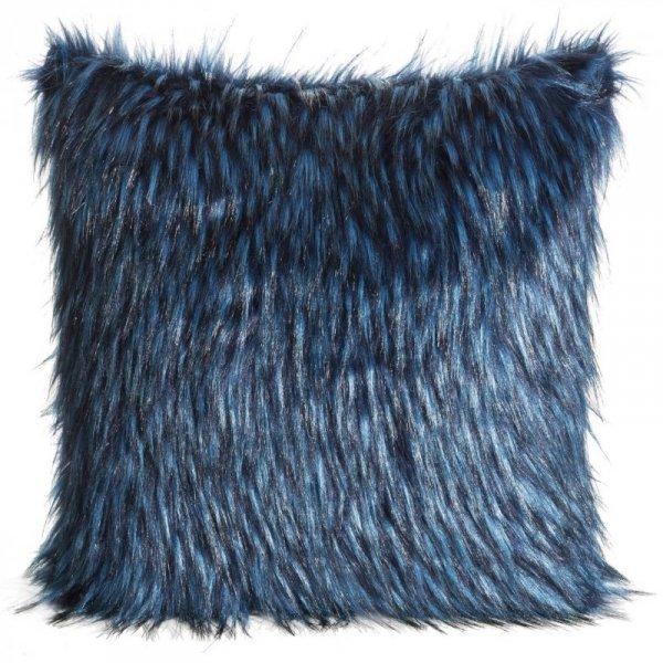Poszewka Dekoracyjna CYRYL2 Niebieska+Czarna 45X45 Eurofirany