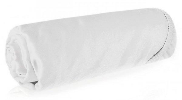 Prześcieradło NOVA3 z makosatyny 180X200 z gumką Białe Eurofirany