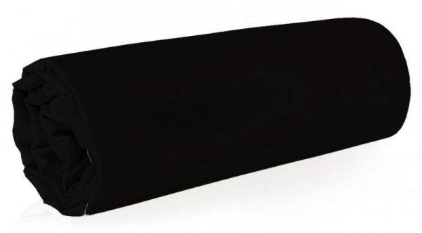 Prześcieradło NOVA 160X210 Czarne Eurofirany