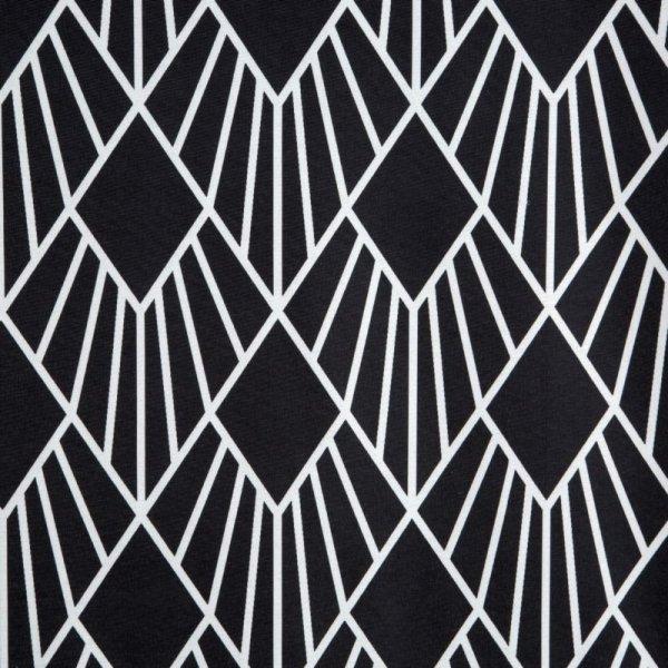 Zasłona KERRY Czarny/Biały 140X250