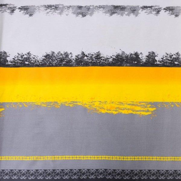 Pościel RISA Żółta 220X200 z dwiema poszewkami 70x80