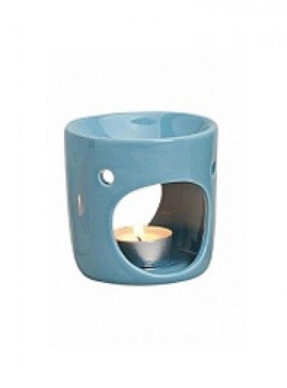 Kominek do wosków: Kwadrat (niebieski)
