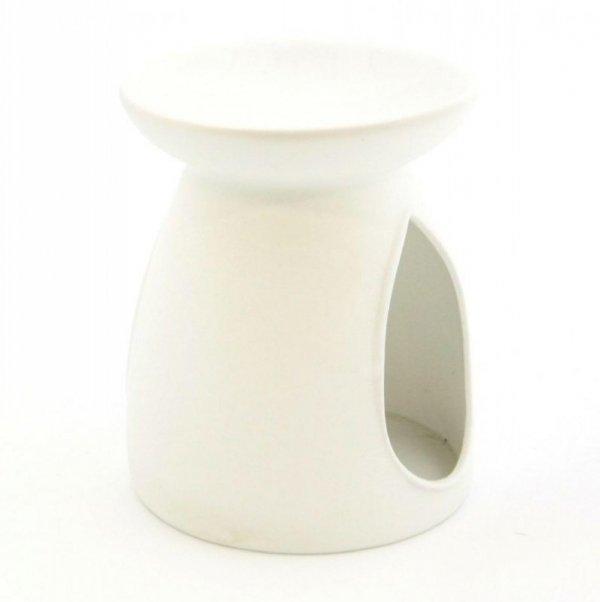 Kominek do wosków: Porcelanowy gładki (biały)