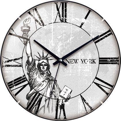 ZEGAR ŚCIENNY NEW YORK 31CM