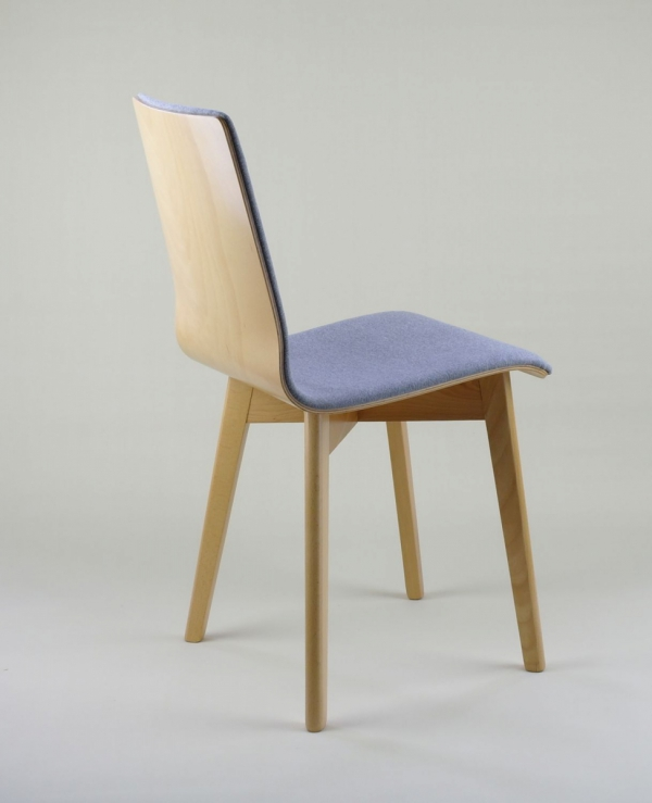 LUKA SOFT W -  krzesło drewniane bukowe