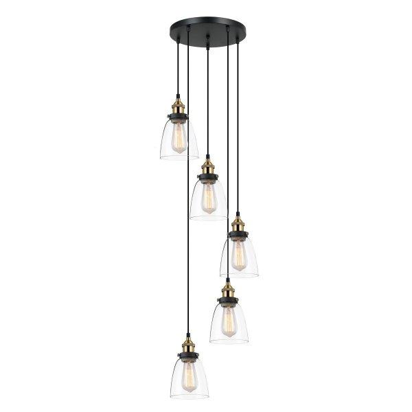 Lampa Francis - MDM-2563/5 GD+CL - Italux