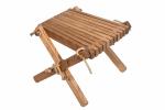 Stolik podnóżek drewniany EcoFurn Jesion Brązowy