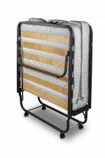 Łóżko składane dostawka hotelowa LUXOR PREMIUM 200 x 90 cm materac 13cm grubości - pokrowiec GRATIS