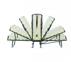 Łóżko składane, dostawka hotelowa  Luxor 90 x 200 cm materac 10 cm